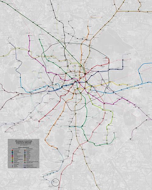 Карта метро, которая не